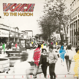 Heartbeat - Voice To The Nation (LP) (NM/EX)